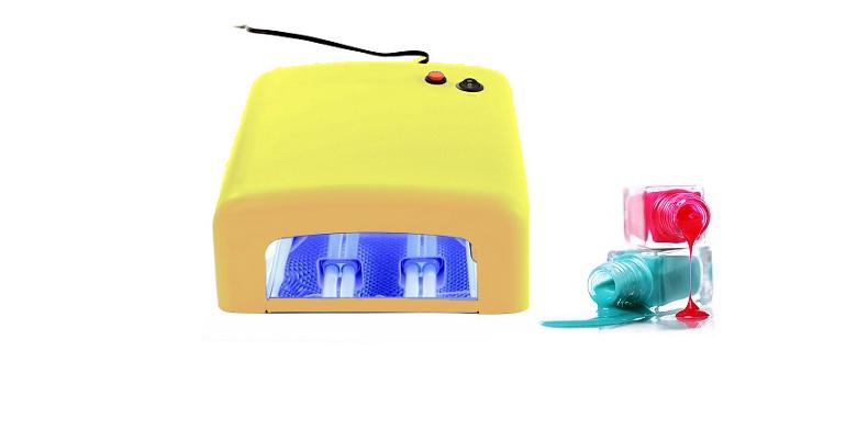 Επαγγελματικό Φουρνάκι Νυχιών με 4 Λάμπες UV, για Ημιμόνιμο μανικιούρ 36w Κίτριν υγεία  και  ομορφιά   μανικιούρ   πεντικιούρ