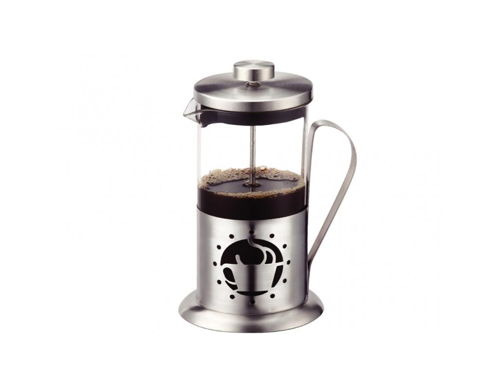 Peterhof Χειροκίνητη Καφετιέρα Γαλλικού Καφέ 350ml από Ανοξείδωτο ατσάλι, PH-125 ηλεκτρικές οικιακές συσκευές   καφετιέρες και είδη καφέ
