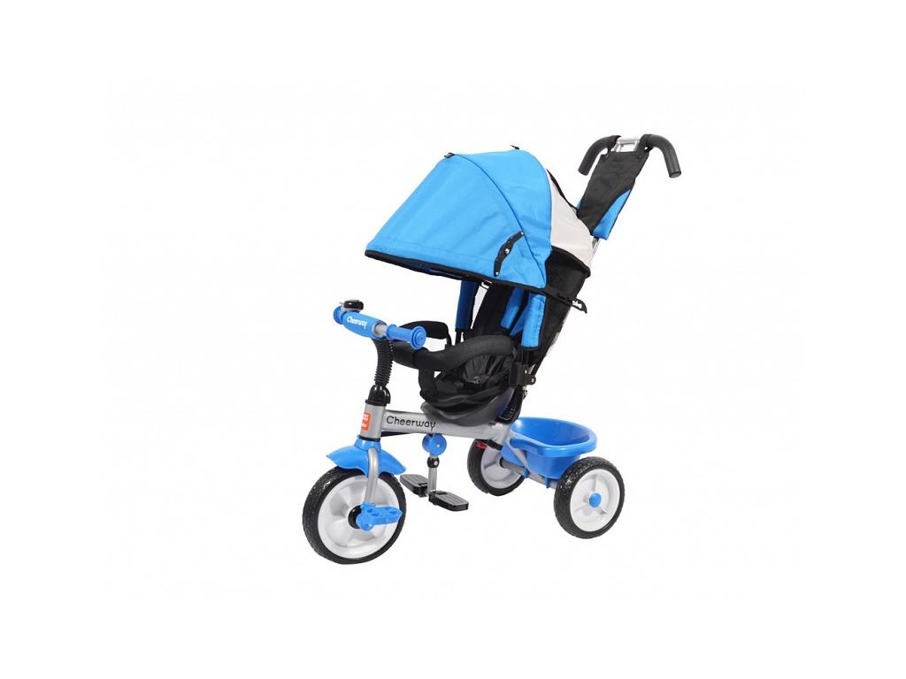 Παιδικό Τρίκυκλο Ποδήλατο με Τέντα για τον Ήλιο και Πετάλια Μπλε - OEM παιχνίδια  παιδί  και  βρέφος   ποδηλατάκια   πατίνια