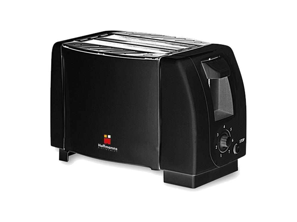 Hoffmanns Αυτόματη Φρυγανιέρα 750W με 7 Επίπεδα Ψησίματος σε Μαύρο χρώμα, 20063  ηλεκτρικές οικιακές συσκευές   τοστιέρες   σαντουιτσιέρες   φρυγανιέρες