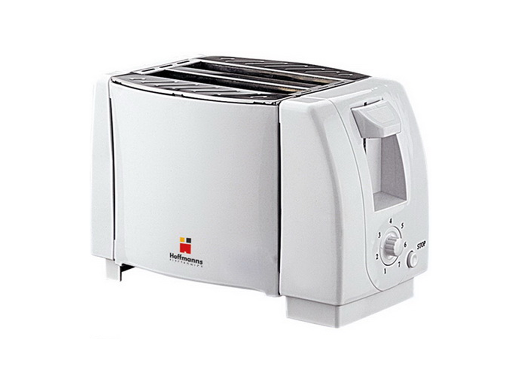 Hoffmanns Αυτόματη Φρυγανιέρα 750W με 7 Επίπεδα Ψησίματος σε Λευκό χρώμα, 20063  ηλεκτρικές οικιακές συσκευές   τοστιέρες   σαντουιτσιέρες   φρυγανιέρες