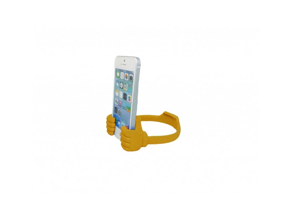 Έξυπνη Βάση Στήριξης Κινητών και Tablets με Χεράκια Χρώμα Πορτοκαλί - OEM τηλεφωνία και tablets   aξεσουάρ για κινητά και tablets