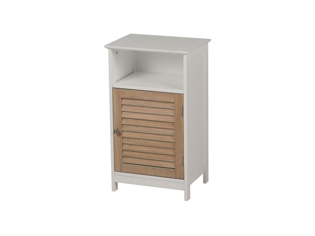 Homestyle Ξύλινο Έπιπλο Συρταριέρα Ντουλάπι Γενικής Χρήσης 40x30x68.5cm με 1 Ντο έπιπλα   οργανωτές αντικειμένων