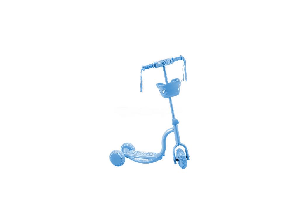 Μπλε Παιδικό Πατίνι με 3 ρόδες και 8x LED στο Πλάι HDL-702 - OEM παιχνίδια  παιδί  και  βρέφος   ποδηλατάκια   πατίνια