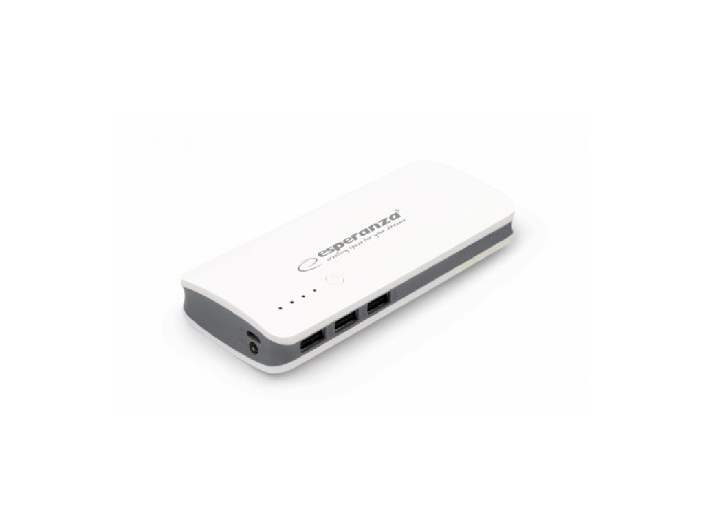 Esperanza Power Bank Φορητό Επαναφορτιζόμενο microUSB 8000mA για iPad, iPhone, t