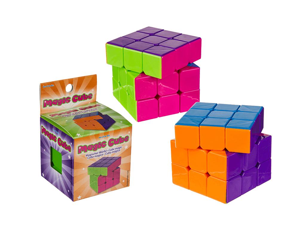 Σπαζοκεφαλιά Κύβος Ρούμπικ Magic Cube 5.5cm, 61/6616 - Out Of The Blue παιχνίδια   εκπαιδευτικά παιχνίδια