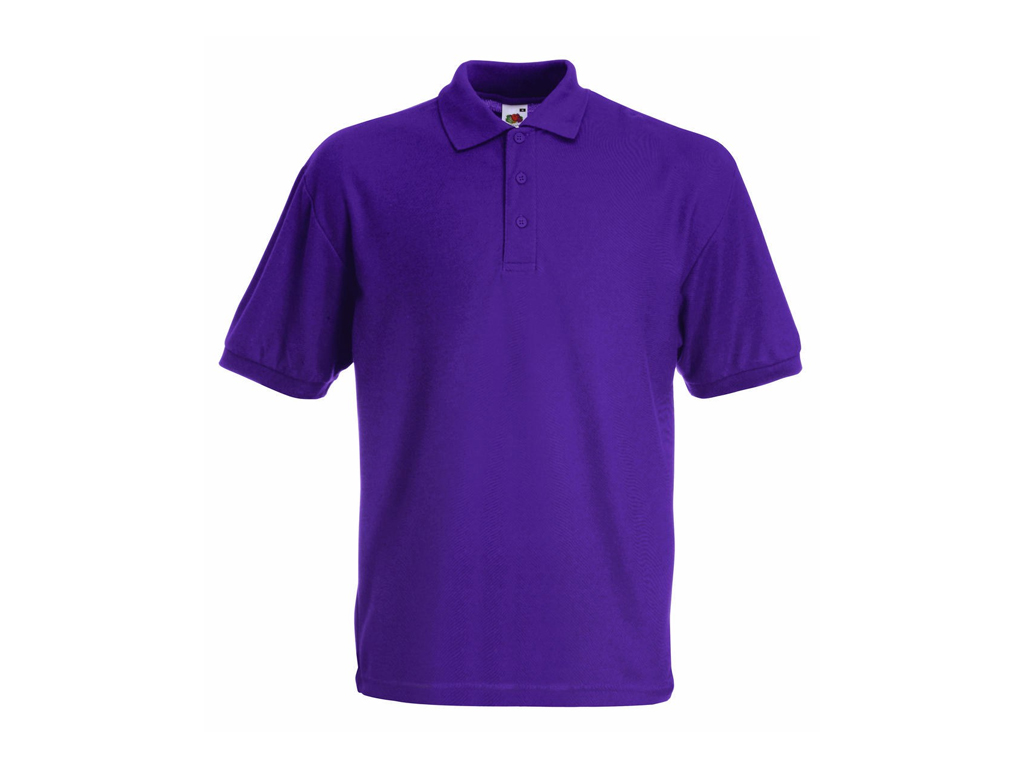 Fruit of the Loom Παιδικό Πόλο Μπλουζάκι με κουμπιά Kids Polo 65/35, Purple No P μωρά και παιδιά   είδη ένδυσης και υπόδησης για παιδιά