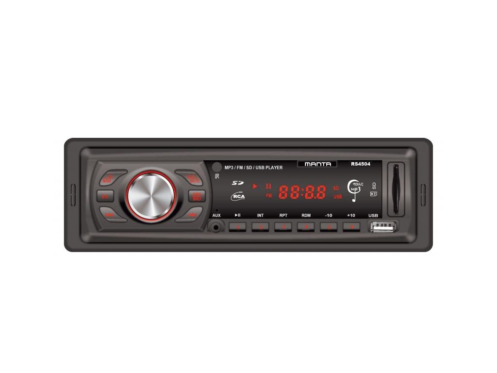 Manta Thunder Ηχοσύστημα Αυτοκινήτου MP3 4x10W με υποδοχή USB/SD/AUX, Λειτουργία gps και είδη αυτοκινήτου   ηχοσυστήματα αυτοκινήτου