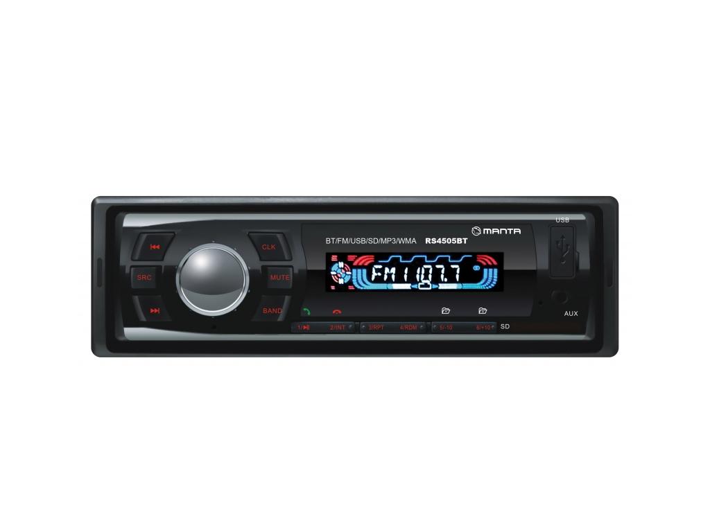 Manta Storm Ηχοσύστημα Αυτοκινήτου Bluetooth MP3 4x10W με υποδοχή USB/SD/AUX, Λε gps και είδη αυτοκινήτου   ηχοσυστήματα αυτοκινήτου