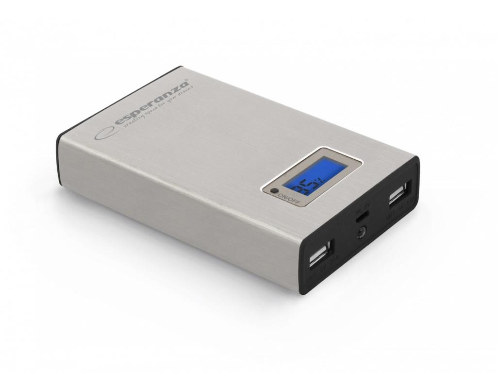 Esperanza Power Bank Φορητό Επαναφορτιζόμενο microUSB 8400mA για iPad, iPhone, t τηλεφωνία και tablets   power bank