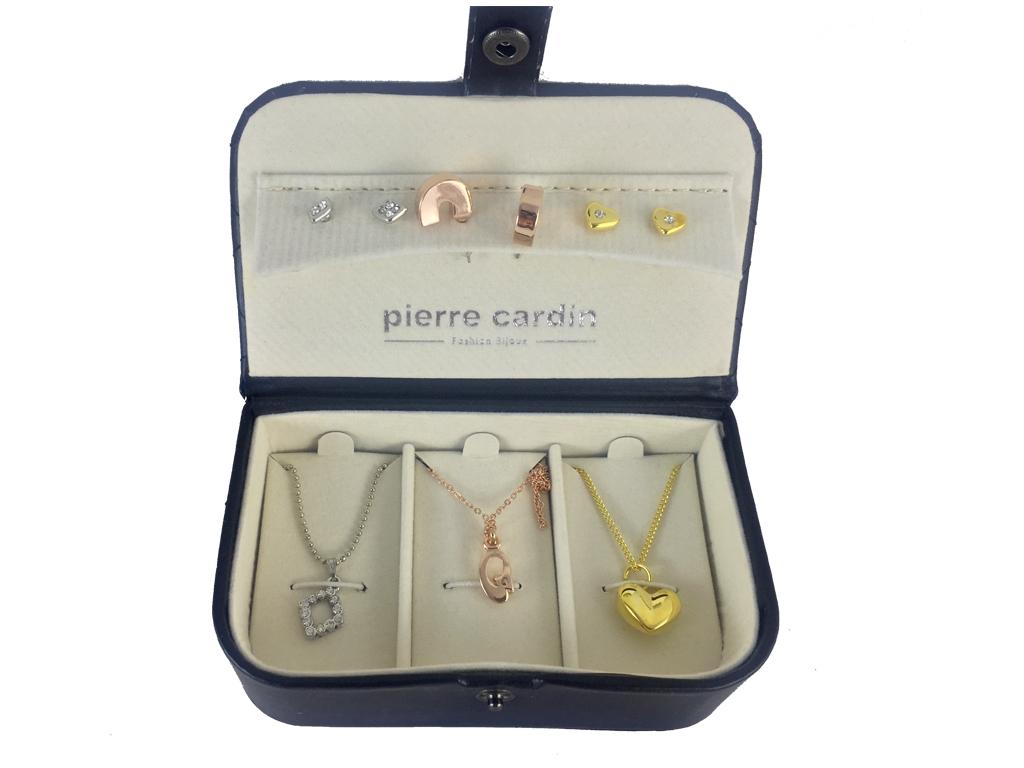 Pierre Cardin Gift Set PXX0144Q Σετ συλλογή Κοσμημάτων με 3 Κολιέ και 3 Ζευγάρια γυναίκα   αξεσουάρ   κόσμημα
