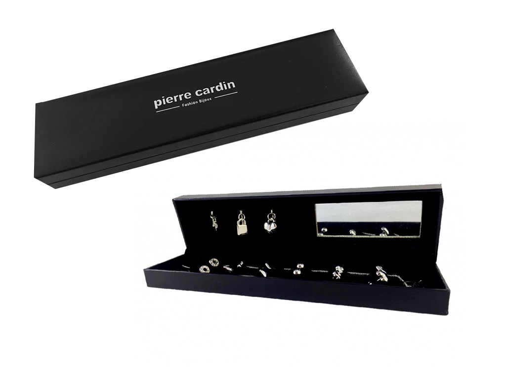 Pierre Cardin Gift Set PXX0081W Σετ συλλογή Κοσμημάτων με 3 Κολιέ και 8 Ζευγάρια γυναίκα   αξεσουάρ   κόσμημα
