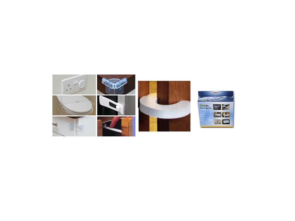 Σετ Προστατευτικά για γωνίες, κάλυμμα πρίζας, κλειδάριες, συρτάρια και για άλλα  αυτοματισμοί και ασφάλεια   άλλα προϊόντα ασφαλείας και αυτοματισμού