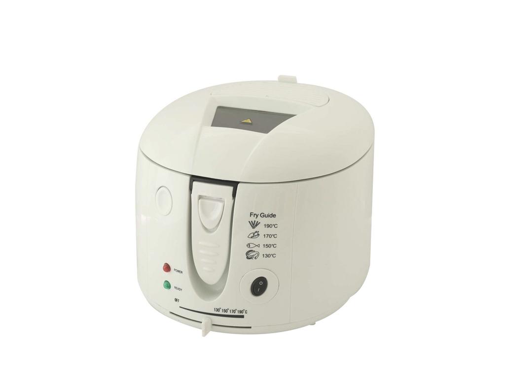 Cook 4 U Φριτέζα 2000W χωρητικότητας 2,5 lt και Θερμοστάτη έως 190 βαθμούς σε Λε ηλεκτρικές οικιακές συσκευές   φριτέζες