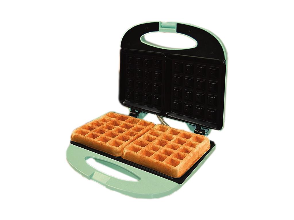 Jocca Waffle Maker Συσκευή παρασκευής βάφλας-Βαφλιέρα 800W με 2 Βαθιές αντικολλη ηλεκτρικές οικιακές συσκευές   παρασκευαστές βάφλας