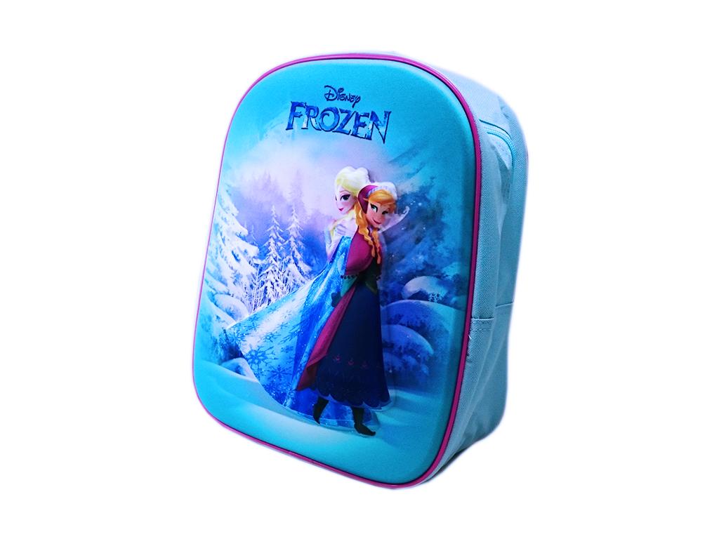 d7a0f51b14 Disney Frozen Σχολική Τσάντα 3D Νηπιαγωγείου Δημοτικού Σακίδιο Πλάτης με  φερμουάρ και ρυθμιζόμενους ιμάντες 31x25cm