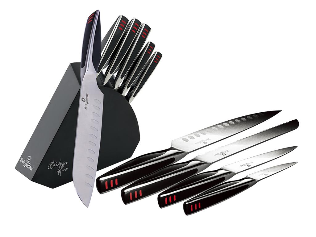 Berlinger Haus Σετ Ανοξείδωτα Μαχαίρια Κουζίνας Santoku 6 τεμ. υψηλής ποιότητας  αξεσουάρ και εργαλεία κουζίνας   μαχαίρια κουζίνας