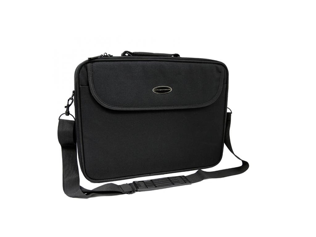 """Esperanza Υφασμάτινη Τσάντα για Λάπτοπ Laptop Notebook Classic 15.6"""" με Ρυθμιζόμ περιφερειακά και αναλώσιμα   αξεσουάρ υπολογιστών"""