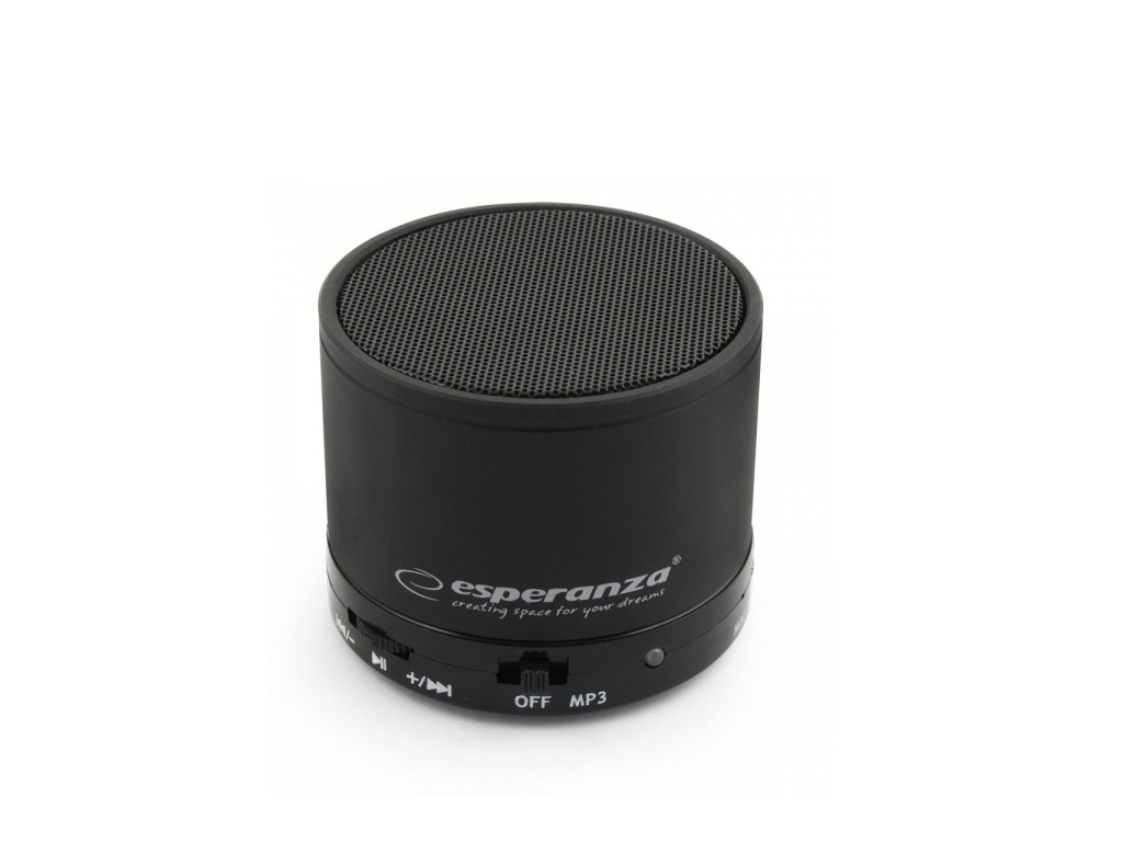 Esperanza Mini Φορητό Ηχείο Bluetooth Ritmo 3W RMS με Λειτουργίες MP3 player και ήχος   bluetooth ηχεία
