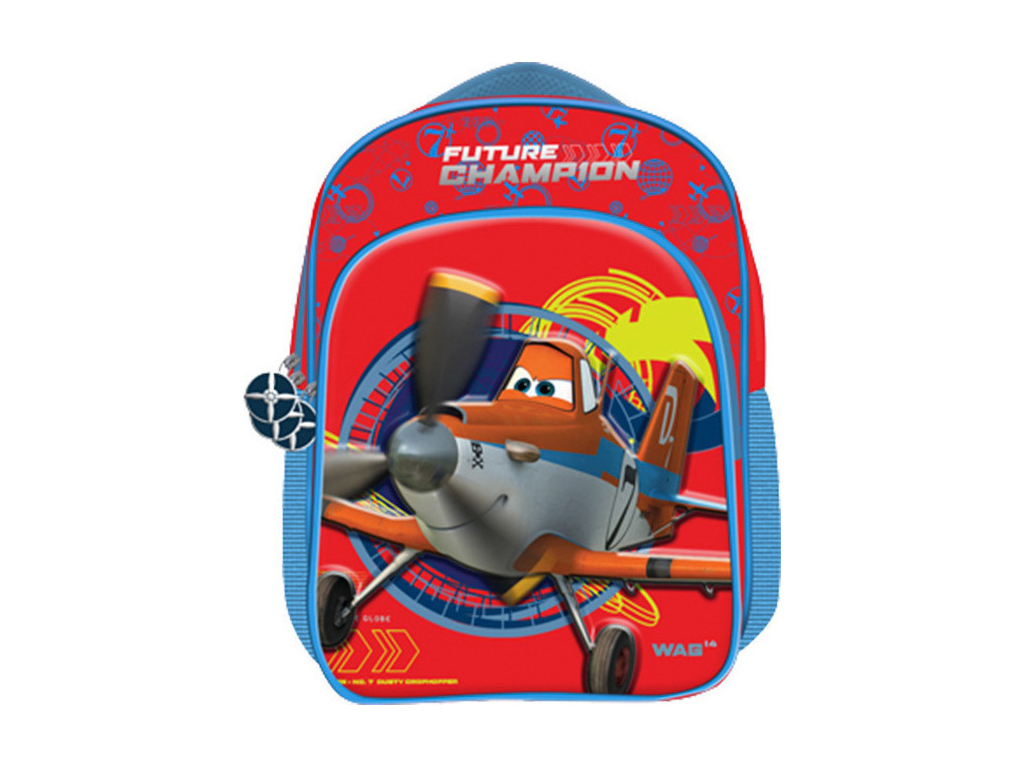 Disney Σχολική Ανατομική Τσάντα Πλάτης Σακίδιο Δημοτικού Plane, 50-916 - Disney σχολικά είδη   σχολικές τσάντες