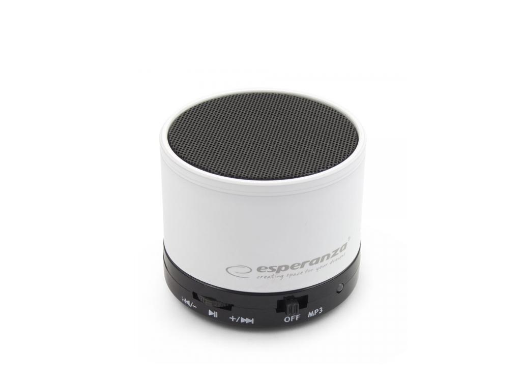 Esperanza Mini Φορητό Ηχείο Bluetooth Ritmo 3W RMS με Λειτουργίες MP3 player και τεχνολογία   ηχεία
