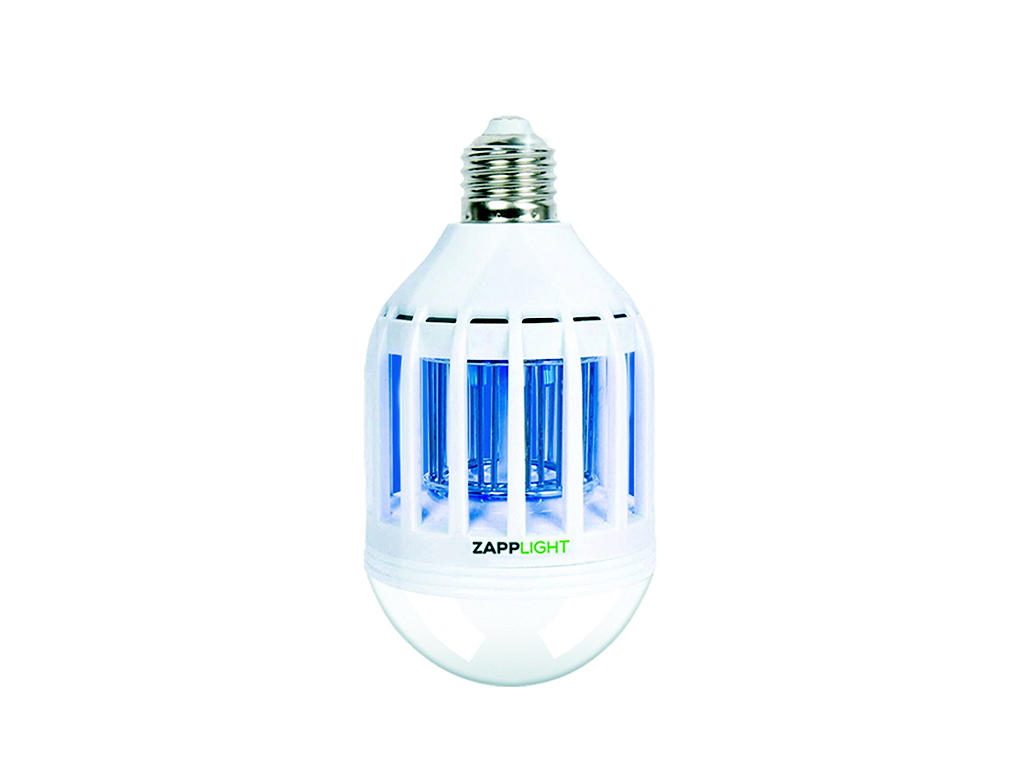 ZappLight Λάμπα LED Ηλεκτρικό Εντομοκτόνο LED 60W BulbHead Εντομοπαγίδα Κουνουπι κήπος και βεράντα   εντομοαπωθητικά