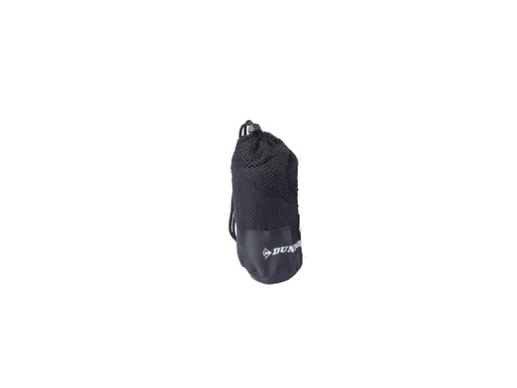 Dunlop Sport Πετσέτα γυμναστηρίου 80x40cm με Πρακτική Θήκη, 15810 Χρώμα Μαύρο -  ρούχα  αξεσουάρ και φορητή τεχνολογία   πετσέτες μικροϊνών