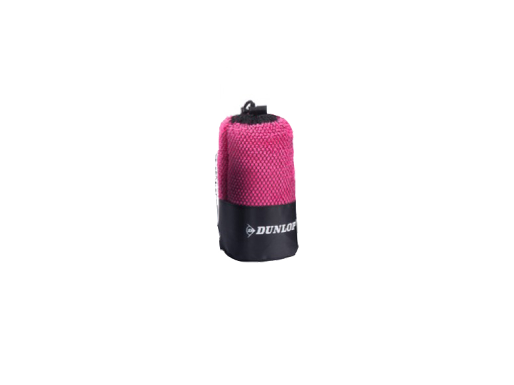 Dunlop Sport Πετσέτα γυμναστηρίου 80x40cm με Πρακτική Θήκη, 15810 Χρώμα Ροζ - Du ρούχα  αξεσουάρ και φορητή τεχνολογία   πετσέτες μικροϊνών