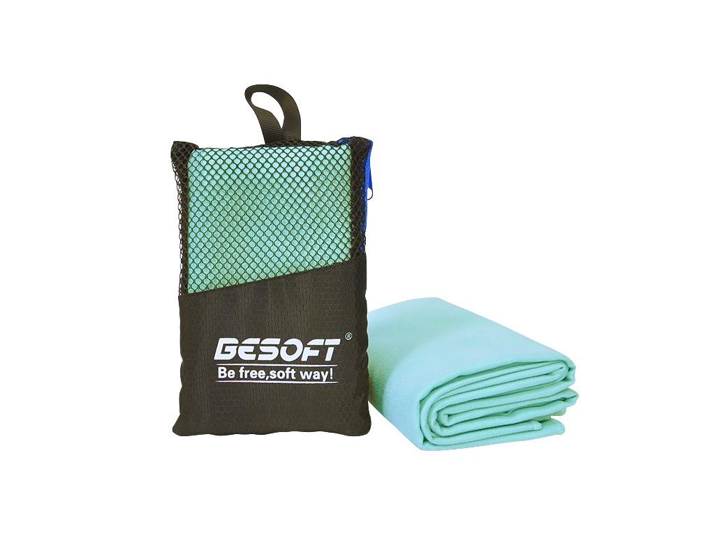 Desoft Πετσέτα Μικροϊνών 80x30cm σε Πρακτική Θήκη Ιδανική για Γυμναστική Χρώμα Λ ρούχα  αξεσουάρ και φορητή τεχνολογία   πετσέτες μικροϊνών