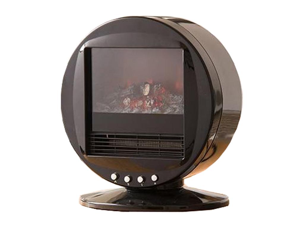Επιτραπέζια Ρετρό Σόμπα Περιστρεφόμενη Ηλεκτρική Θερμάστρα Χαλαζία 2000W με εφέ  θέρμανση και κλιματισμός   θέρμανση