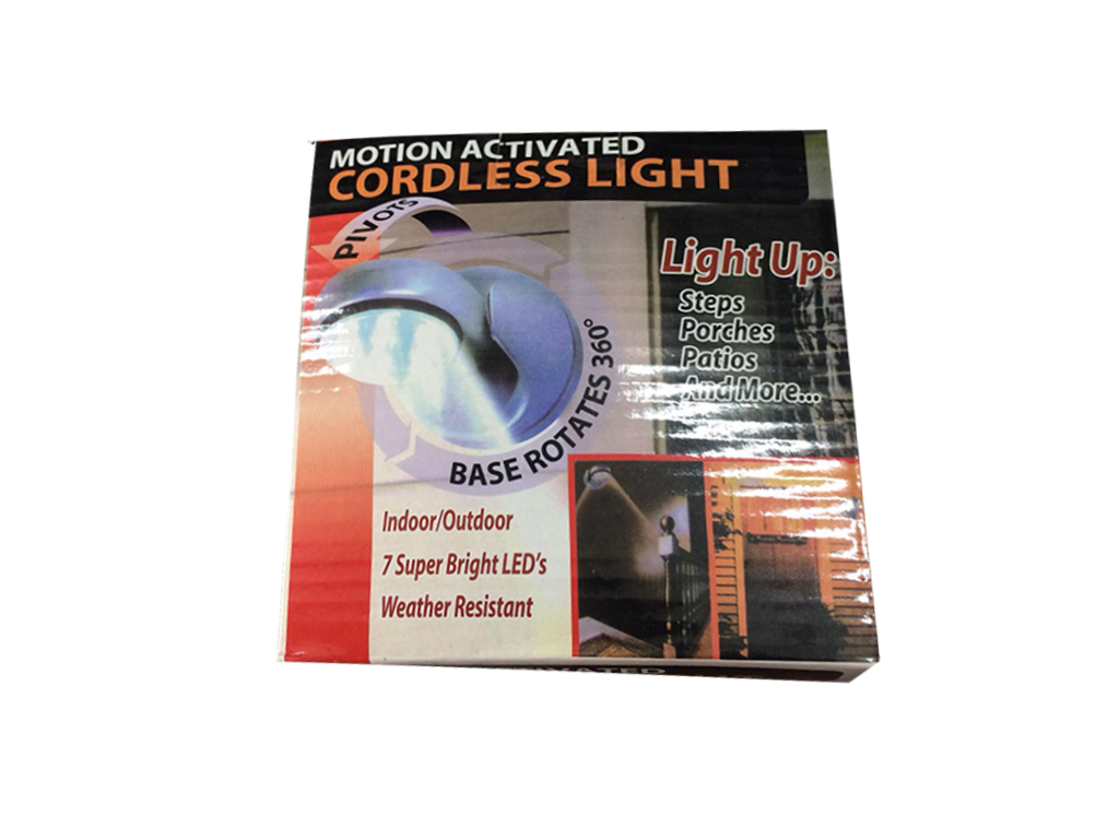 Φορητός Προβολέας LED με Αισθητήρα Κίνησης Light Angel - Light Angel διακόσμηση και φωτισμός   led φωτισμός