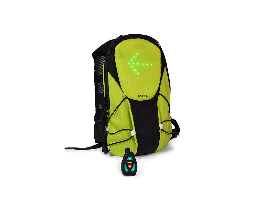 Jocca Σακίδιο Πλάτης Backbag Ποδηλάτου με Ενδεικτικές λυχνίες για αλλαγή πορείας αθλητισμός και fitness   ρούχα  αξεσουάρ και φορητή τεχνολογία