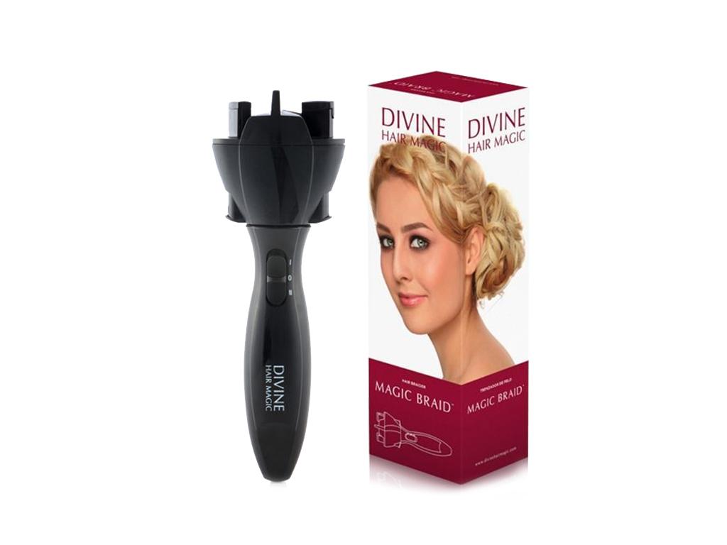 Divine Hair Magic Ηλεκτρική Συσκευή για Πλεξούδες - Πλέξης Μαλλιών Magic Braid μ κομμωτική   σίδερα μαλλιών για μπούκλες