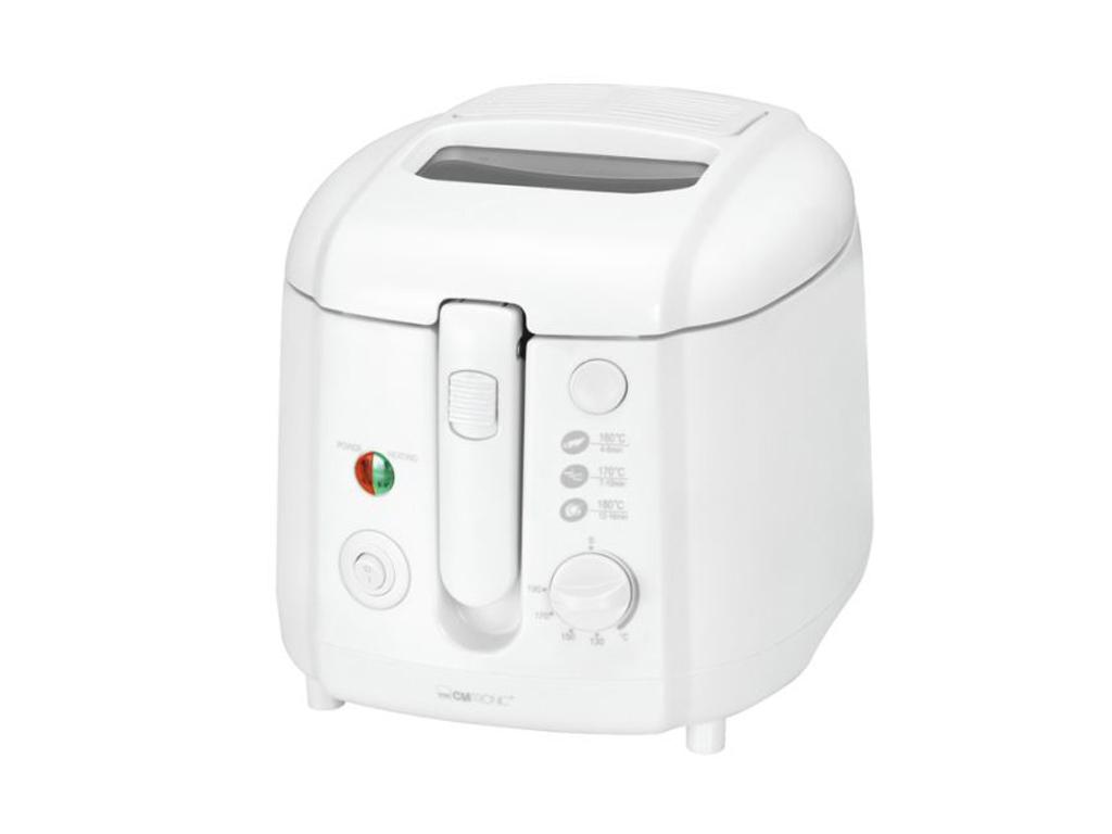 Clatronic Φριτέζα 1800W χωρητικότητας 2 lt και Θερμοστάτη έως 190 βαθμούς σε Λευ ηλεκτρικές οικιακές συσκευές   φριτέζες