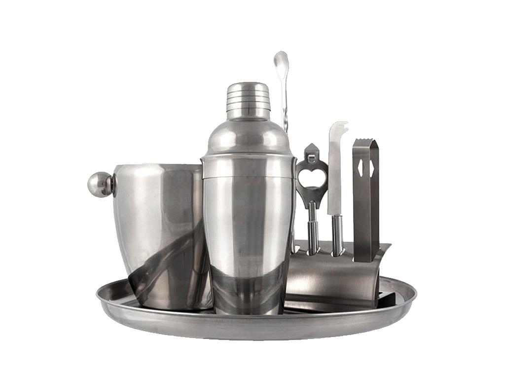 Summum Sommelier Σετ Παρασκευής και Σερβιρίσματος Κοκτέιλ Cocktail 8 τεμ. από Αν αξεσουάρ και εργαλεία κουζίνας   άλλα αξεσουάρ κουζίνας