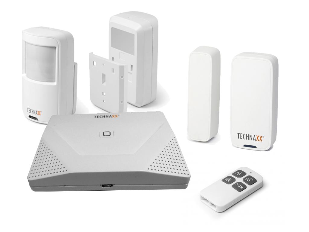 Technaxx Σύστημα Συναγερμού WiFi με Ανιχνευτή Κίνησης και Χειριστήριο για Εσωτερ αυτοματισμοί και ασφάλεια   συναγερμοί και ανιχνευτές