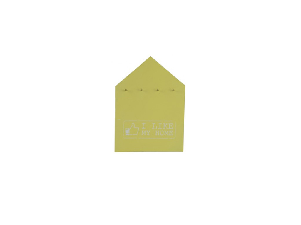 Arti Casa Vintage Deco Ξύλινη Επιτοίχια Κλειδοθήκη 20x30x1.5cm 4 Θέσεων σε σχήμα έπιπλα   κλειδοθήκες