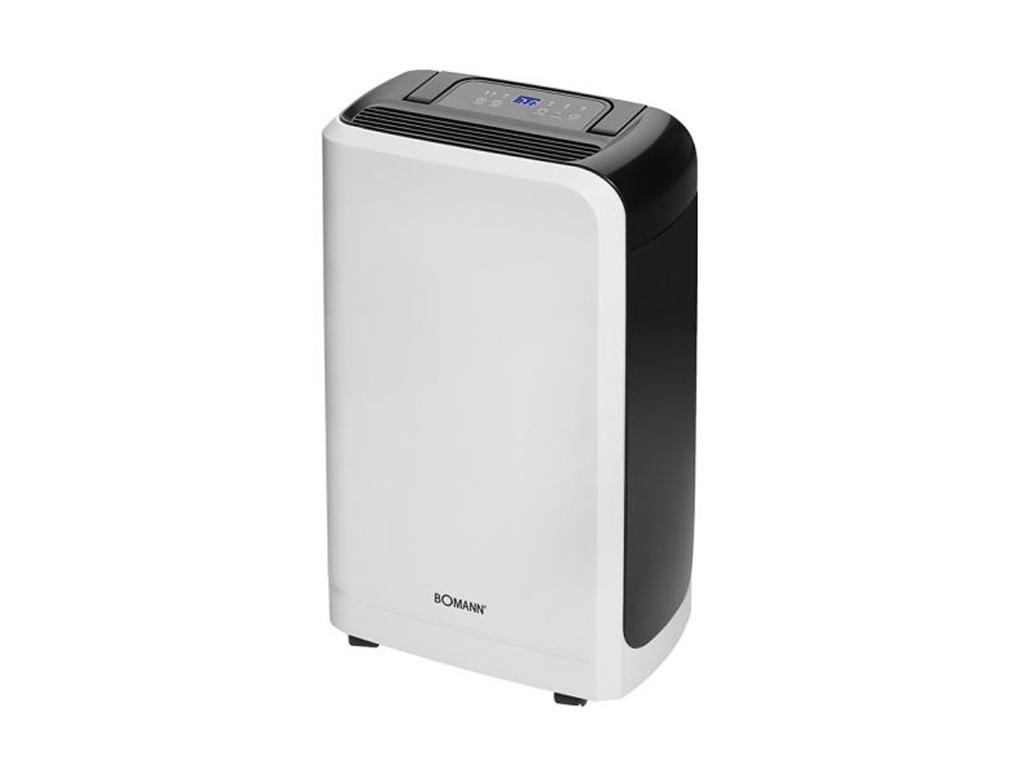 Bomann Φορητός Ηλεκτρονικός Αφυγραντήρας 245W για 55-60 τ.μ. με πτυσσόμενη λαβή  θέρμανση και κλιματισμός   υγραντήρες και αφυγραντήρες