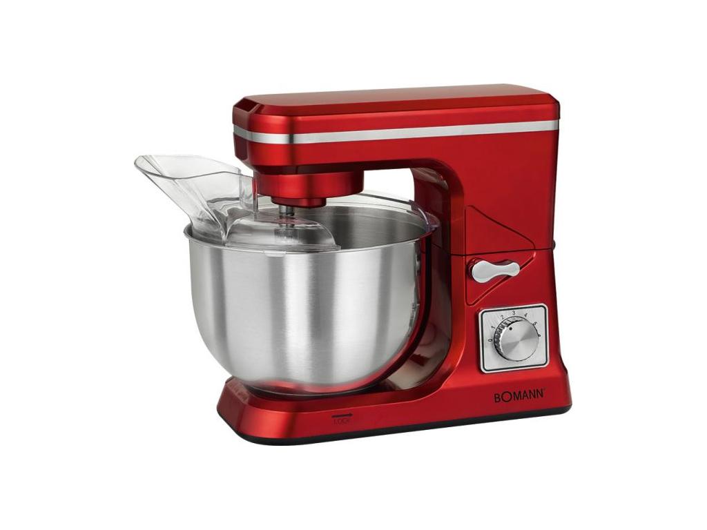 Bomann Κουζινομηχανή Μίξερ 1000W με Ανοξείδωτο Κάδο 5Lt, 8 ταχύτητες και επιπλέο κουζίνα   κουζινομηχανές πολυκόφτες