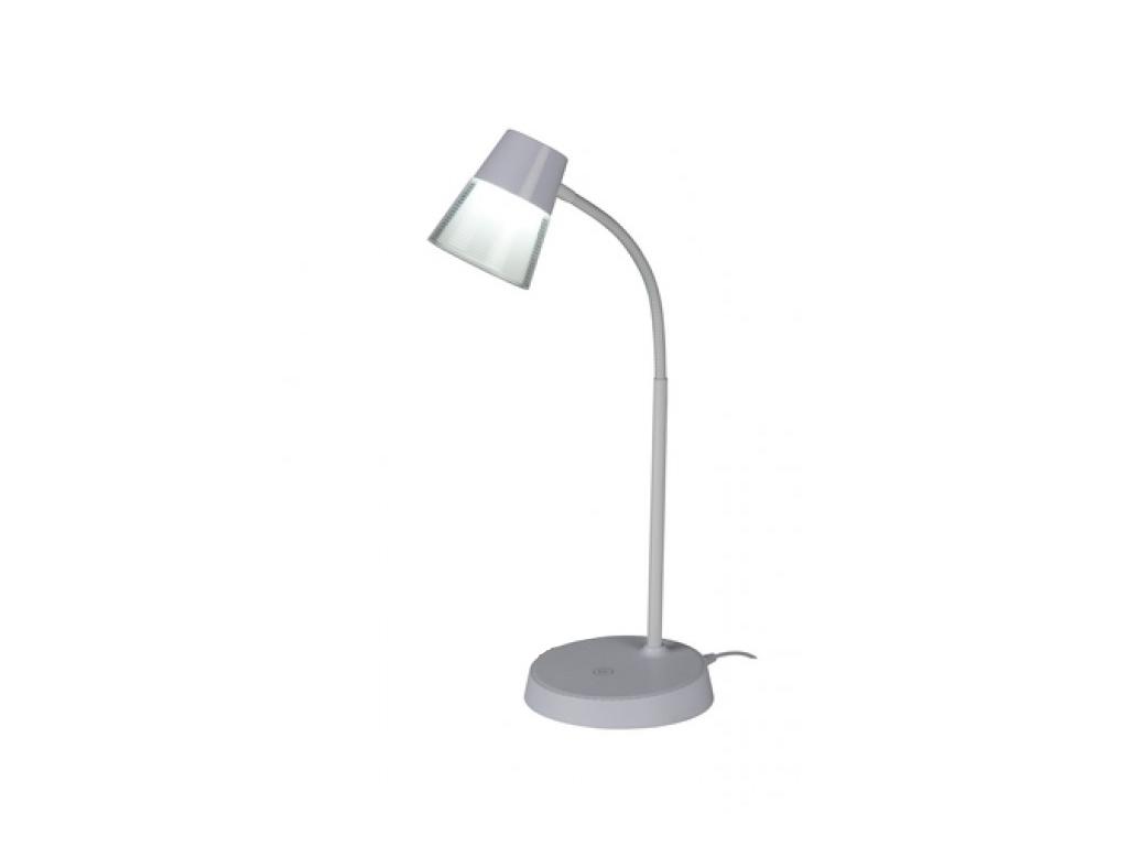 Grundig Μοντέρνο Εύκαμπτο LED Φωτιστικό Γραφείου 4.5w 48cm Θερμοκρασίας 6000-650 διακόσμηση και φωτισμός   led φωτισμός