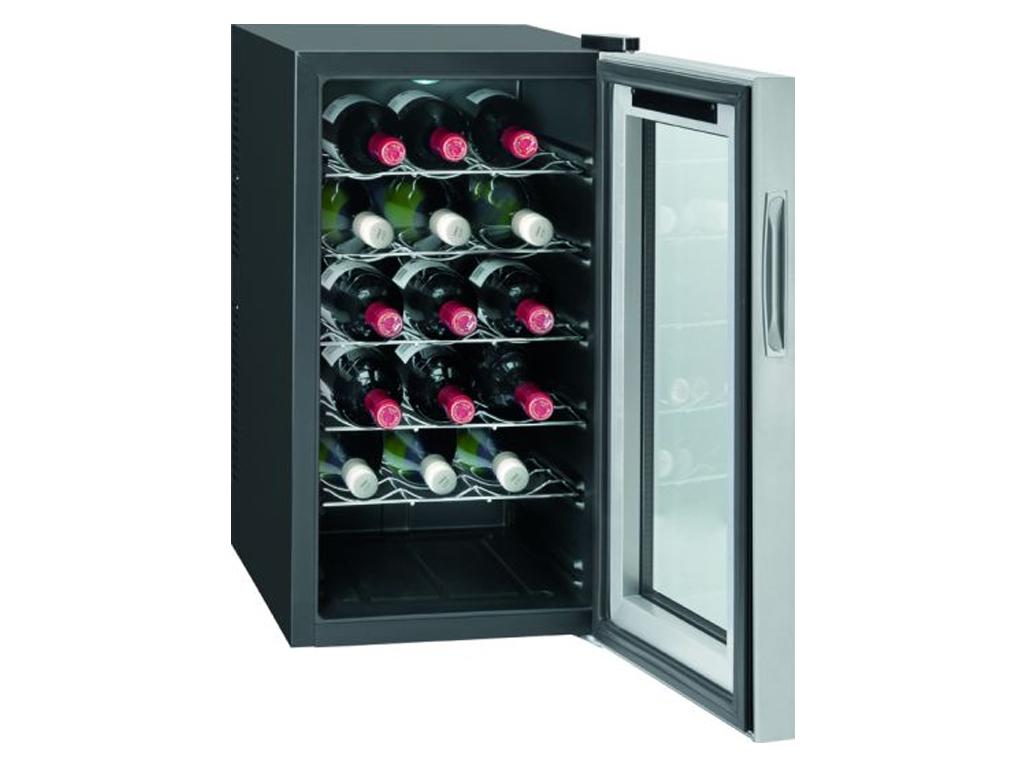 Bomann Συντηρητής Ψυγείο Κρασιών 54L Χαμηλού Θορύβου για 18 φιάλες των 0.75L 70W ψυγεία και καταψύκτες   συντηρητές κρασιών