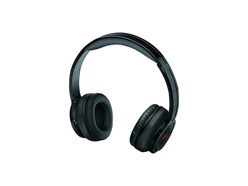 AEG Στερεοφωνικά Επαναφορτιζόμενα Ακουστικά Bluetooth 400mA σε Μαύρο χρώμα, KH 4 ήχος   bluetooth ακουστικά