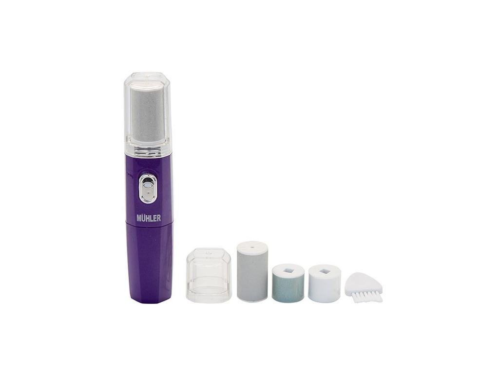 Muhler Ηλεκτρική Συσκευή Μανικιούρ Πεντικιούρ για Φυσικά και Λαμπερά Νύχια με 4  προϊόντα ομορφιάς   μανικιούρ και πεντικιούρ