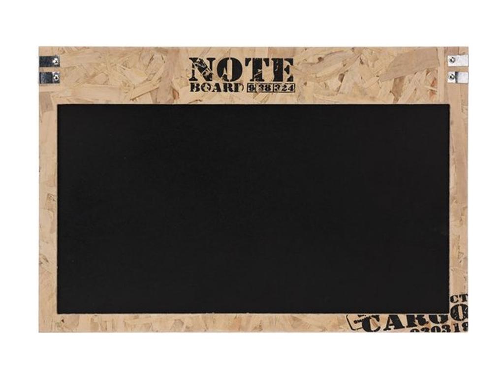 Κρεμαστός Ξύλινος Μαυροπίνακας Κιμωλίας για σημειώσεις 60x1.5x40cm, NB1700100 -  διακόσμηση και φωτισμός   πινακίδες  καμβάδες και αφίσες