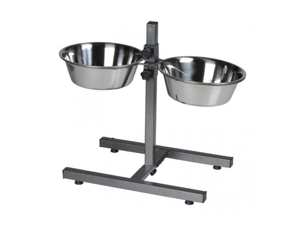 Pet Food Θήκη ταΐστρα Σετ 2 τμχ φαγητού και νερού 25x7.5cm για τα κατοικίδια σας κατοικίδια   ποτίστρες και ταΐστρες