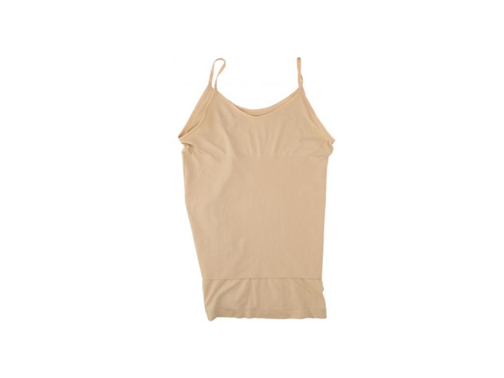 Φανέλα Κορσές Αδυνατίσματος για Τέλειο Σχήμα και Όψη σε Μπεζ χρώμα, 87204 - Cb είδη ένδυσης και υπόδησης   γυναικεία εσώρουχα