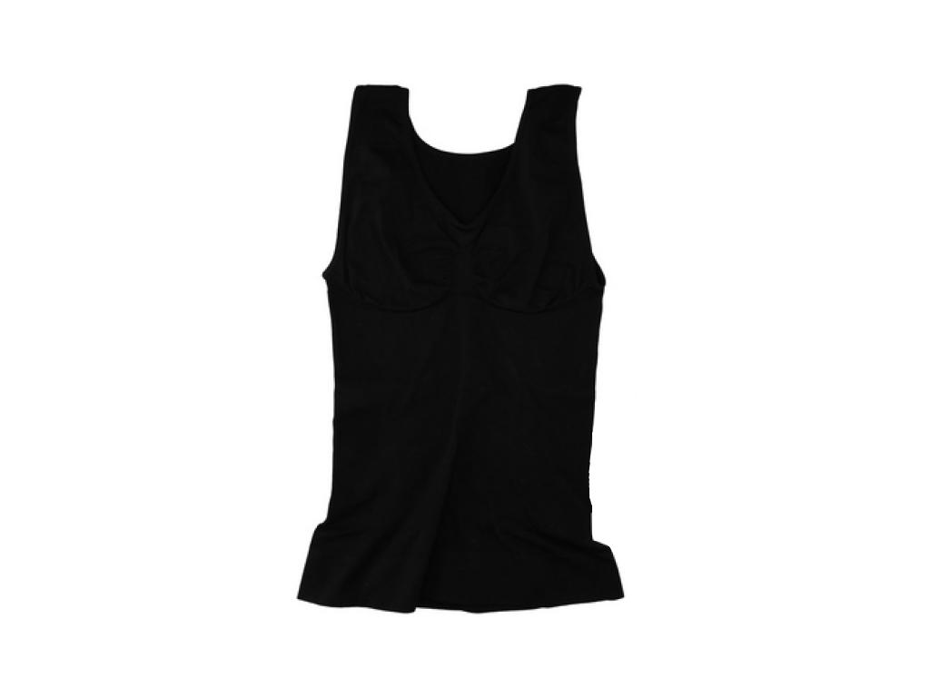Φανέλα Κορσές για Τέλειες Καμπύλες και Όψη σε Μαύρο χρώμα, 87207 - Cb είδη ένδυσης και υπόδησης   γυναικεία εσώρουχα
