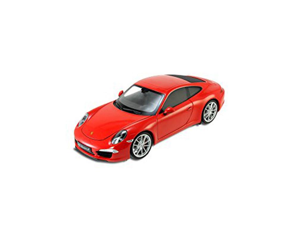 Welly Μεταλλικό Αυτοκίνητο Μινιατούρα PORSCHE 911 (991) Carrera S σε κλίμακα 1:43 Official Licensed Product - Welly