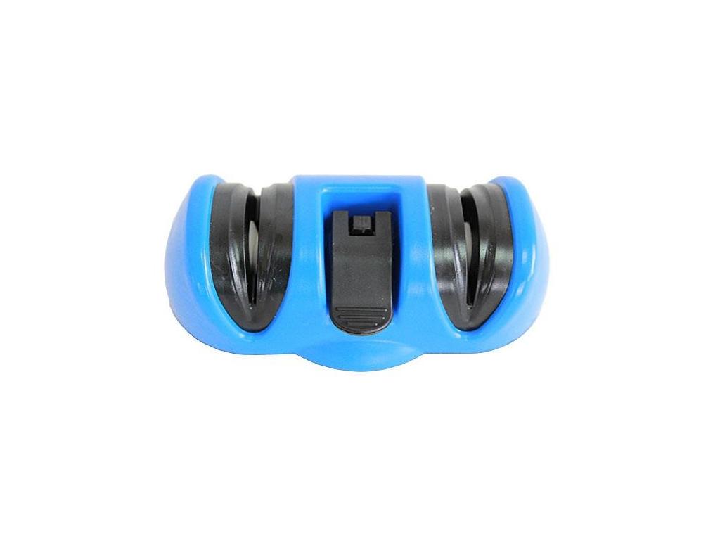 Διπλό Χειροκίνητο Ακονιστήρι Μαχαιριών με Ροδέλες σε Μπλε χρώμα, AG422A - Cb ηλεκτρικές οικιακές συσκευές   διάφορες οικιακές συσκευές