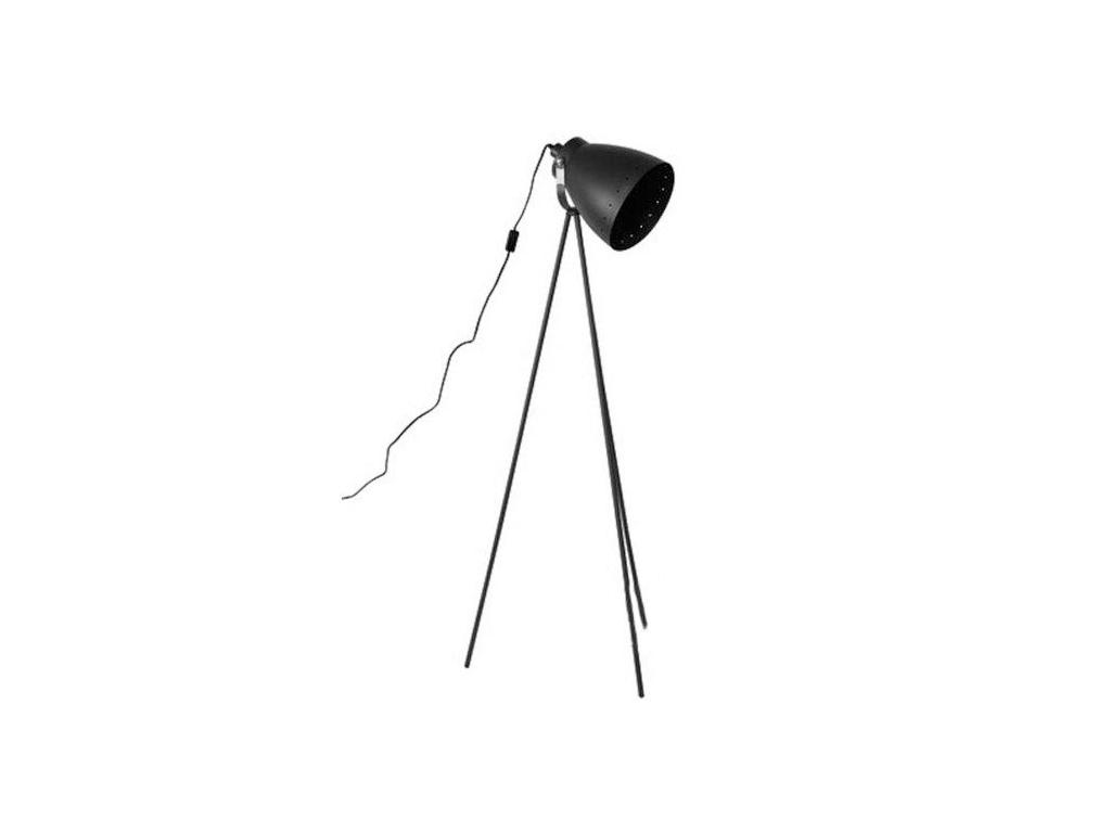 Grundig Φωτιστικό Δαπέδου 9W E27- 156cm ύψους με τρία πόδια, 54114 Mayro Μαύρο - διακόσμηση και φωτισμός   φωτιστικά